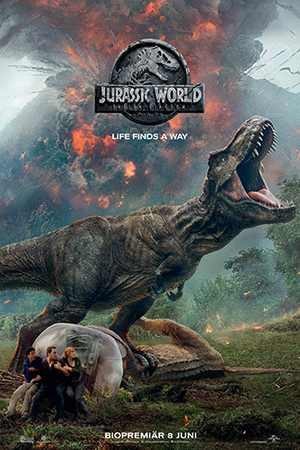 Jurassic World - Fallen Kingdom fodral